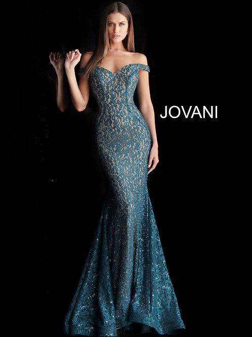 Jovani 64521 Peacock