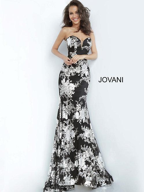 Jovani 02475 Black/Silver