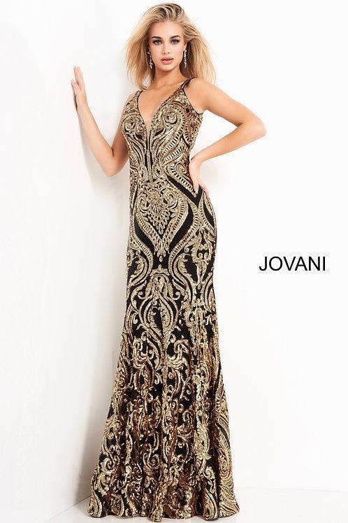 Jovani 2669 Black/Copper