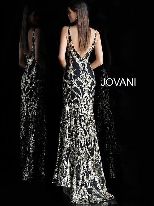 Jovani 63350 Black/Silver