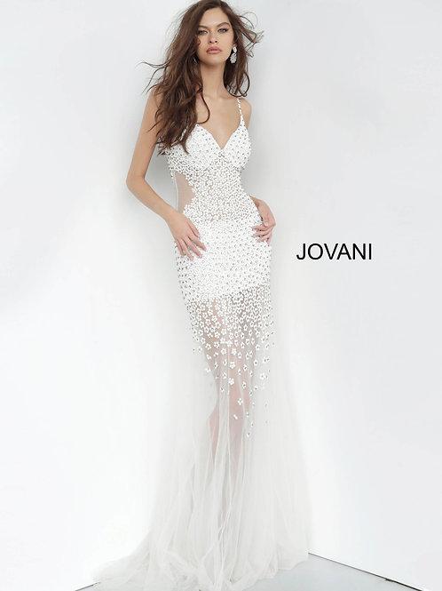 Jovani 60695 Off-White