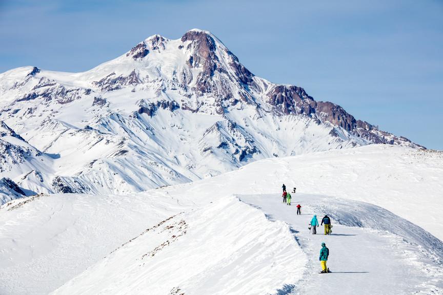 Kasbek Peak - Gudauri, Georgie