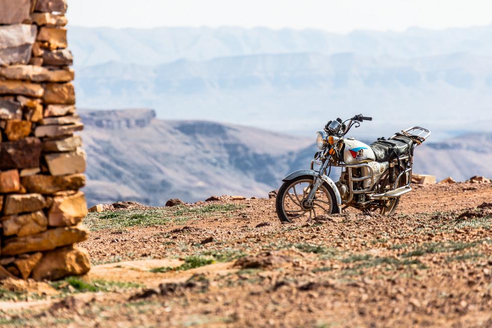 Djebel Sahro, Maroc