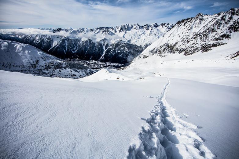 Pas de Chevre - Chamonix Mont-Blanc, France