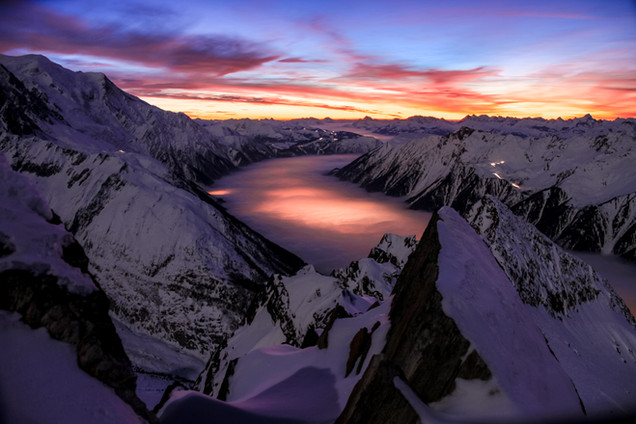 The Sea - Chamonix Mont-Blanc, France