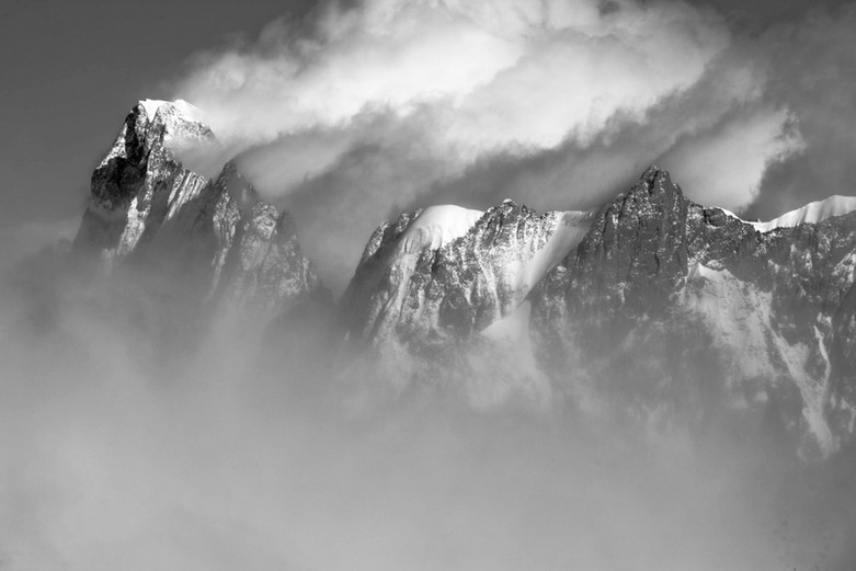 Les Grandes Jorasses - Chamonix Mont-Blanc, France