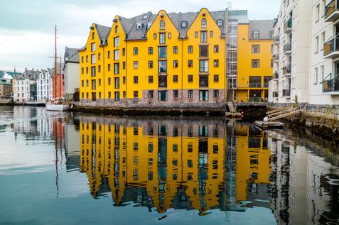 Down Town - Aalesund, Norway