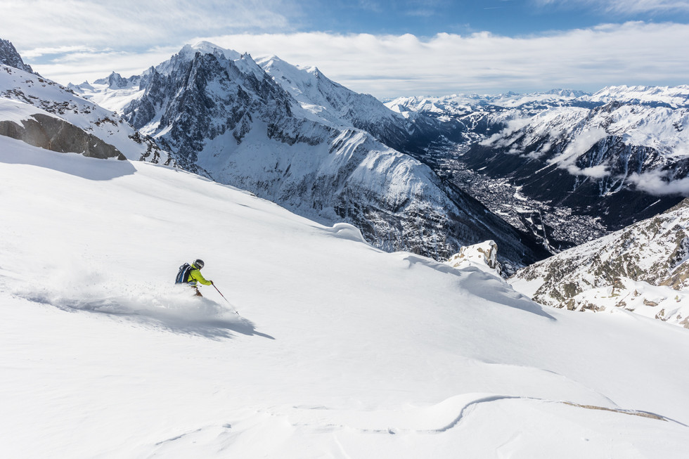 Matthieu Vigier - Grands-Montets, Chamonix