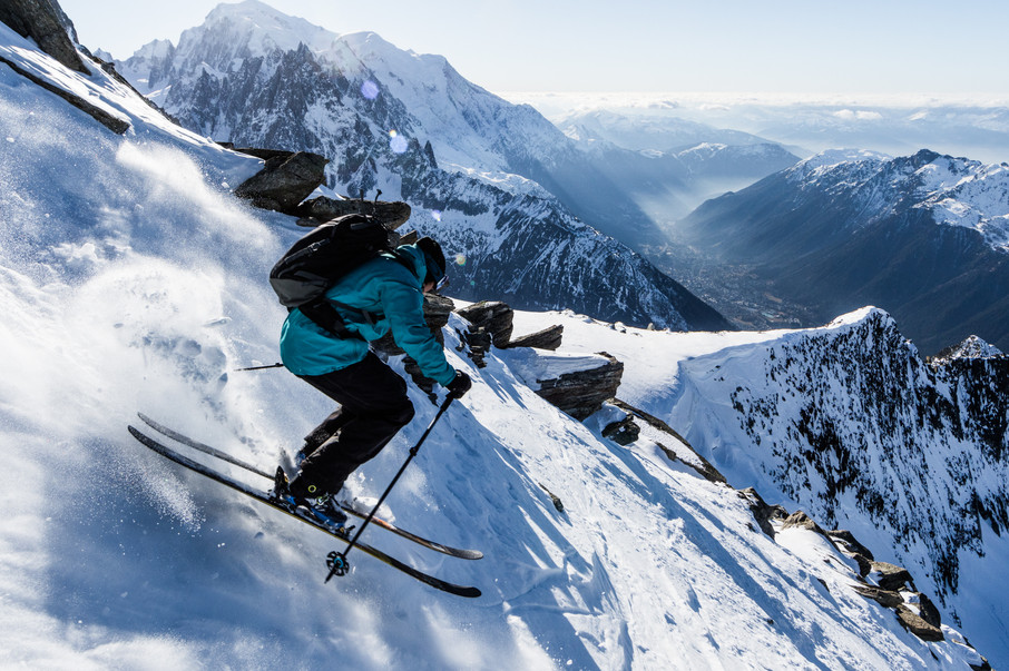 Tof Henry - Grands-Montets, Chamonix