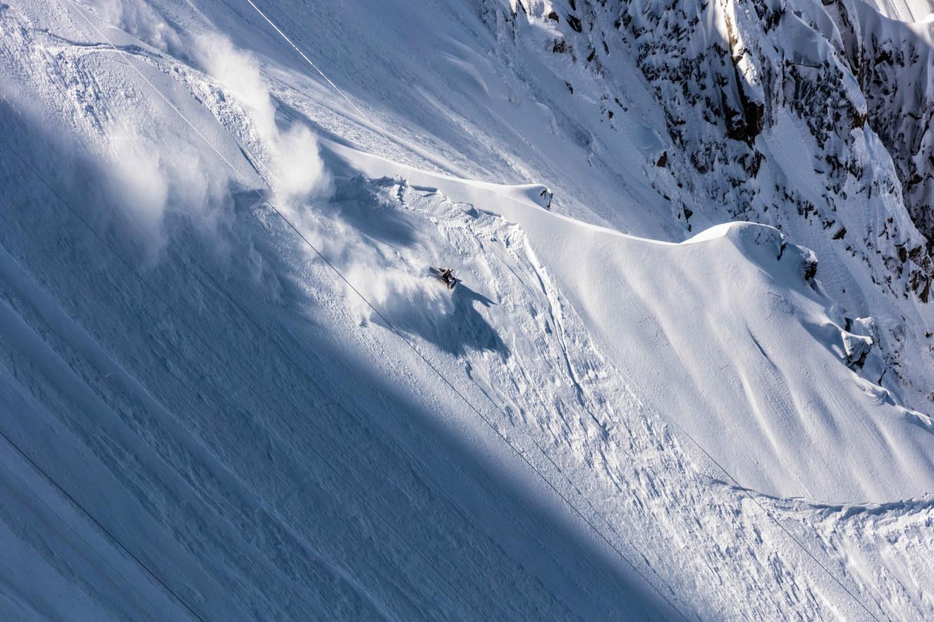 Tof Henry - Glacier Rond - Aiguille du Midi - Chamonix