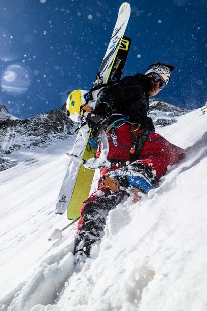 Paul Edouard Millet - Col des Droites - Argentiere Bassin - Chamonix
