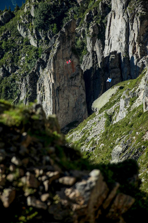 Wingsuit - Chamonix, France