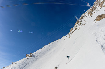Christopher Baud - Skylift, Courmayeur, Italie