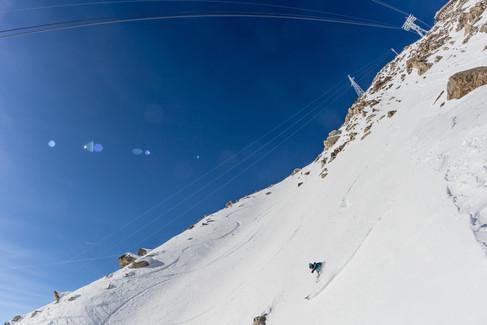 Christopher Baud - Skylift, Courmayeur, Italie