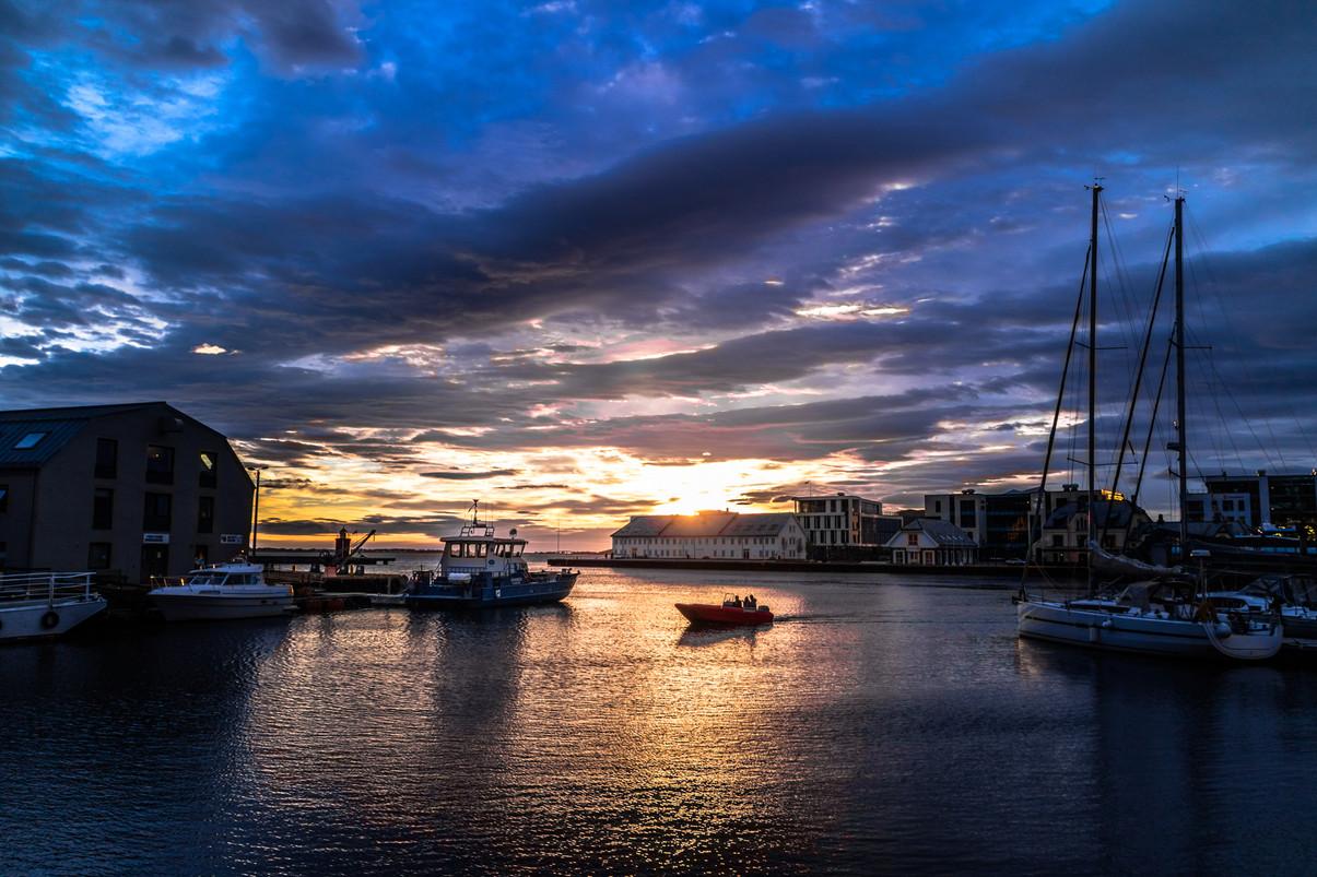Aalesund Down Town Port, Norway