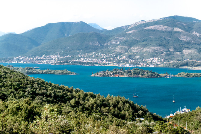 Kotor Bay Fjord, Tivat, Montenegro