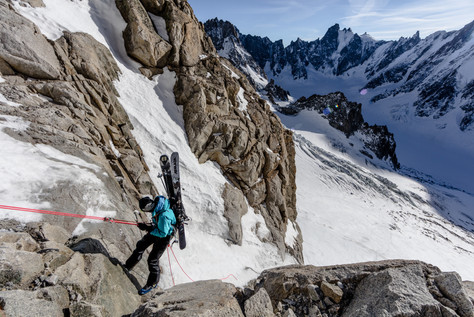 Tof Henry - Couloir Y Aiguille Argentiere, Chamonix