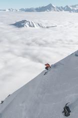 Jeremy Picq, monoski - Skylift, Courmayeur, Italie