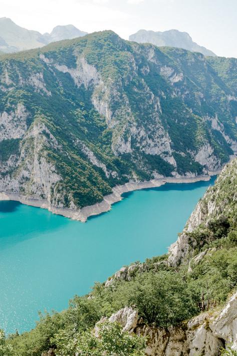 Lake Piva, Durmitor, Montenegro