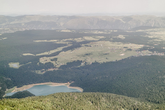 Zabljak and Black lake - National Park, Durmitor, Montenegro