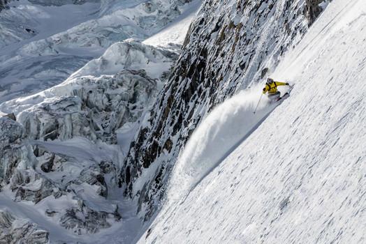 Matthieu Vigier - Col des Droites - Argentiere Bassin - Chamonix