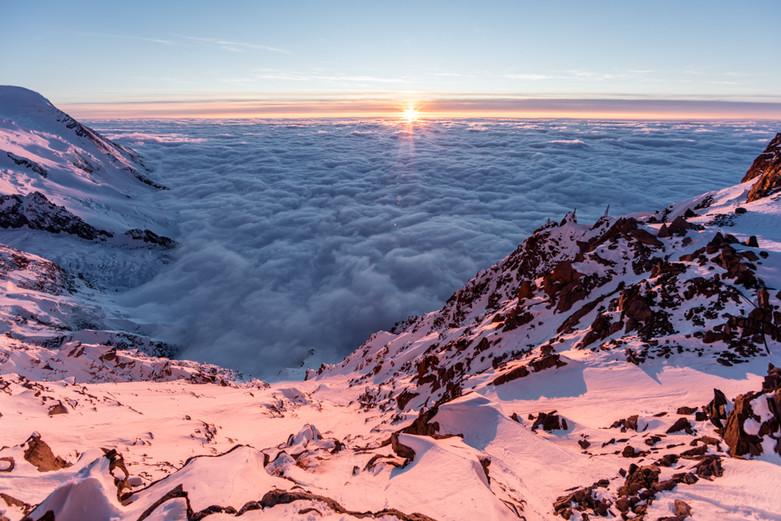 Couloir des Cosmiques - Chamonix Mont-Blanc, France