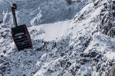 Christopher Baud - Mallory Route, Aiguille du Midi, Chamonix