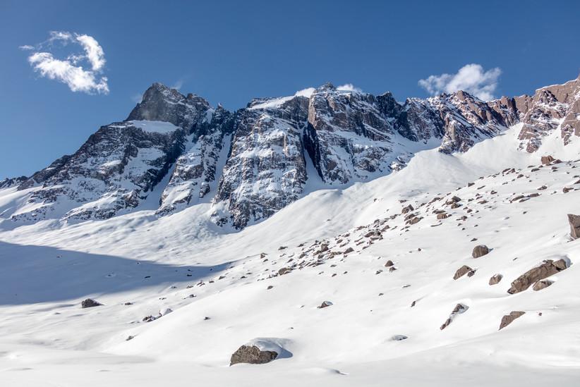 Cerro Arenas - Cajon del Maipo, Chile