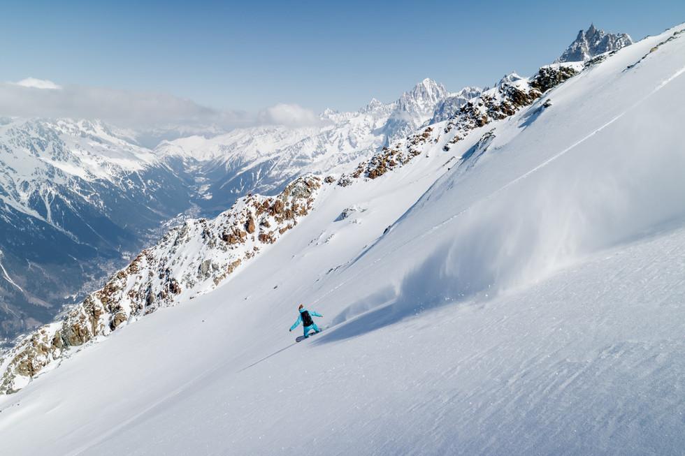 Loic Deschamps - Glacier de la Griaz, Les Houches