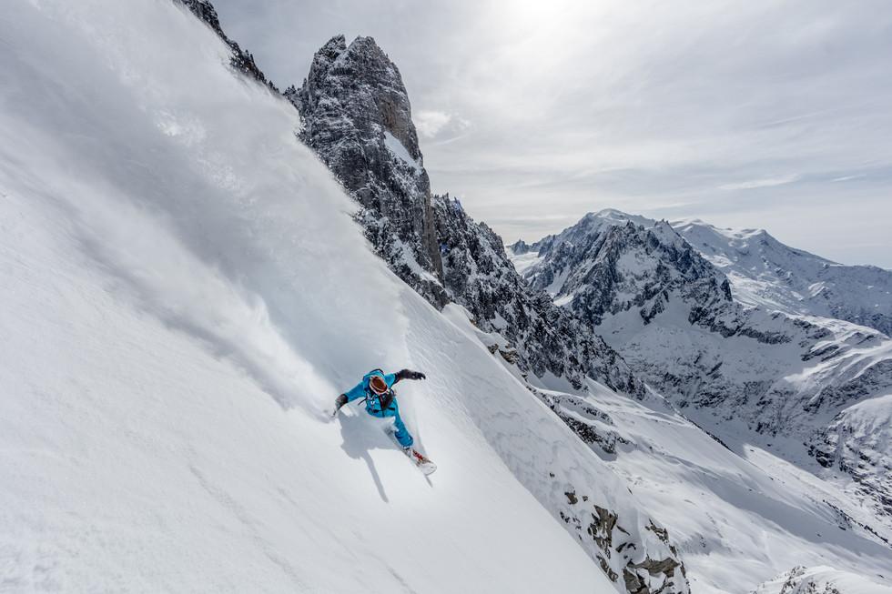 Loic Deschamps - Pas de Chevre, Chamonix