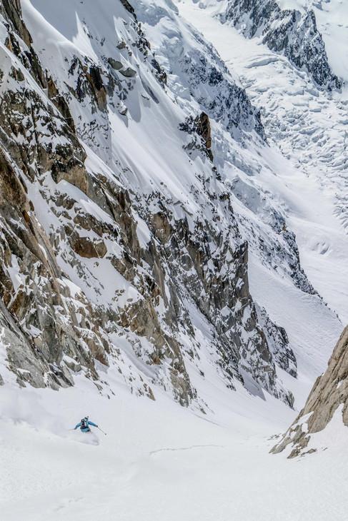 Tof Henry - La Passerelle - Aiguille du Midi - Chamonix