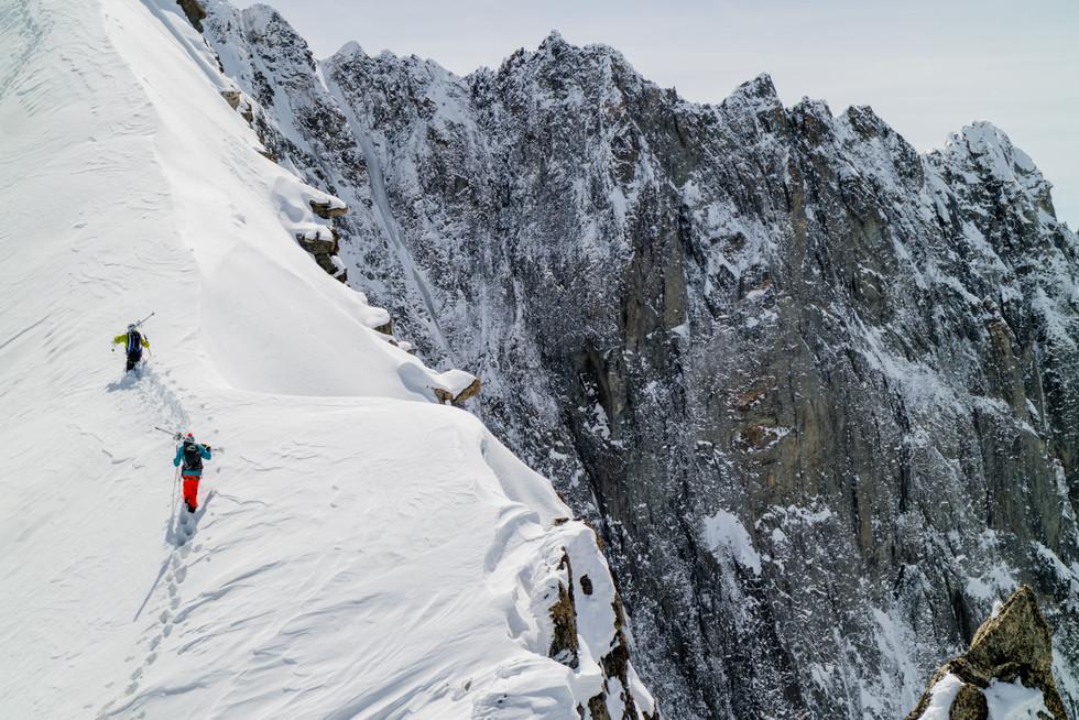 Matt Vigier, Quantin D'Aubarede - Chamonix, France