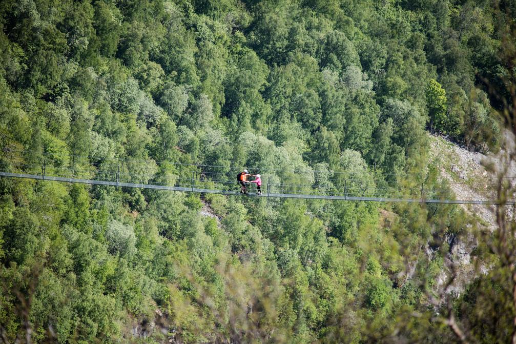 Via Ferrata - Loen, Norway