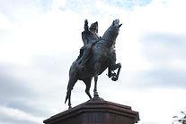Петр I г. Бийск скульптор Исаков С.М
