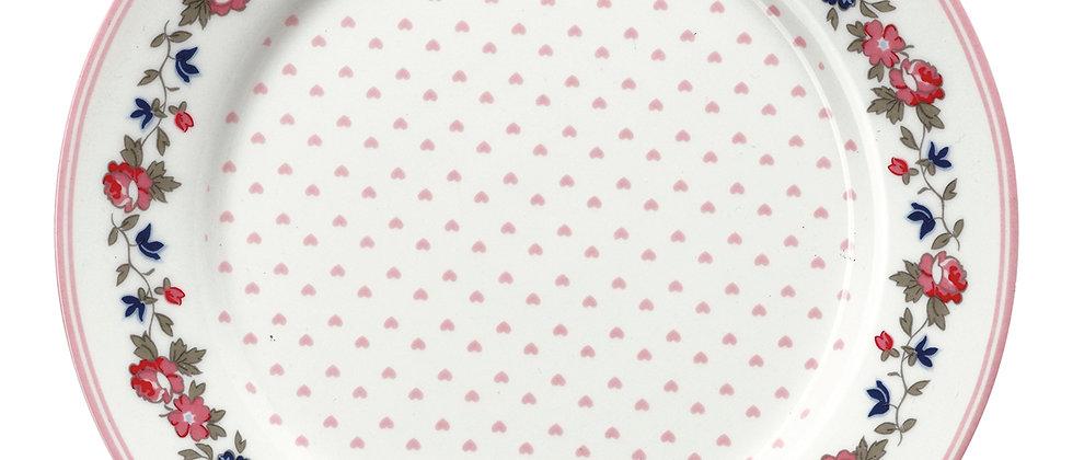 GreenGate Teller 20 cm   Ruby petit white