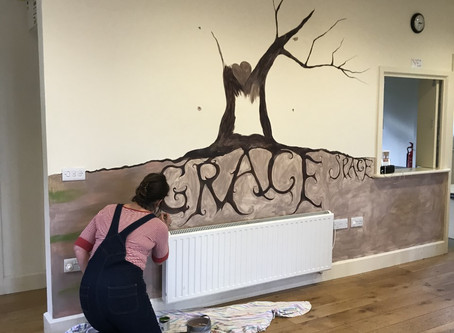Our GraceSpace mural