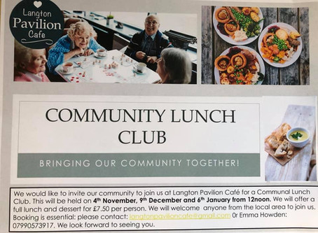 Community Lunch in Langton Green