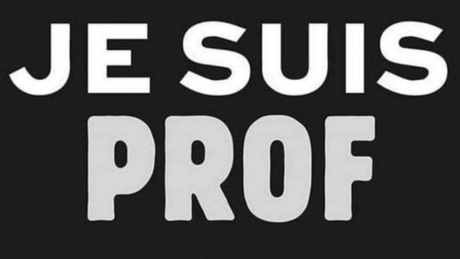 #Jesuisprof