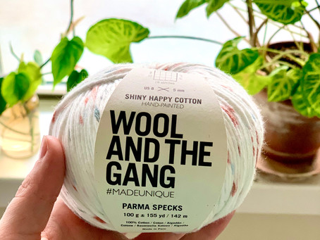 Yarn Review: Wool and The Gang Yarn, Shiny Happy Cotton