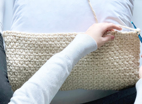 The Adobe Throw Pillow - crochet pattern