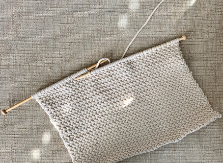 Learn to Knit the Herringbone Stitch