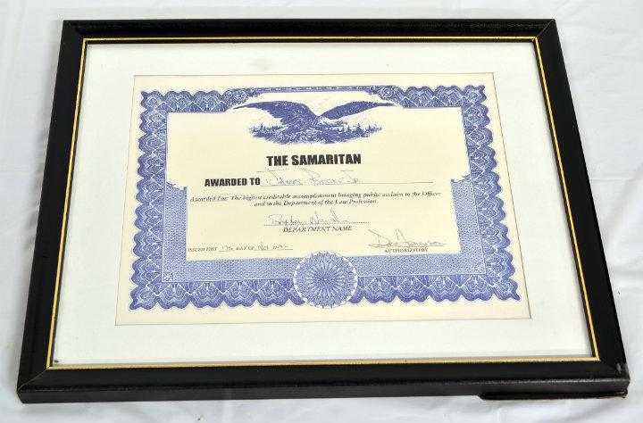 The Samaritan Award