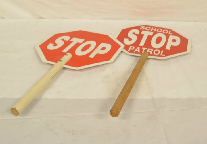 Crossing guard signs