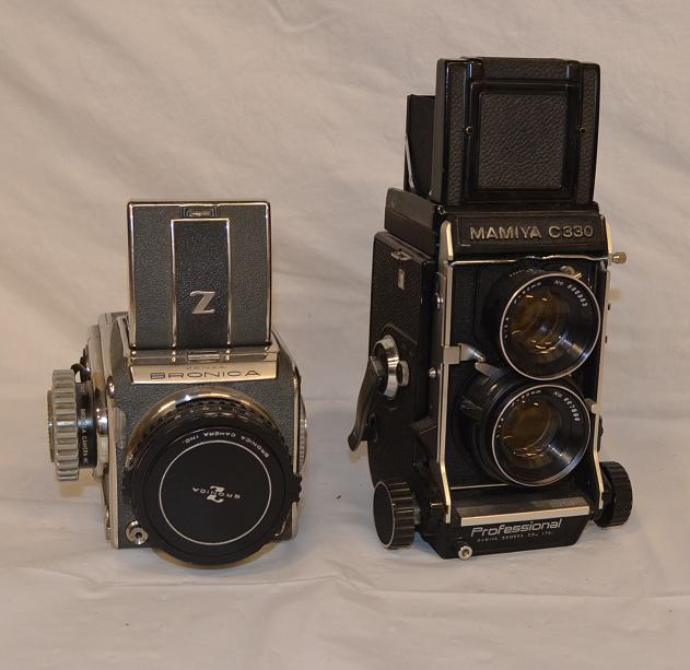 Zenza Bronica _ Mamiya cameras