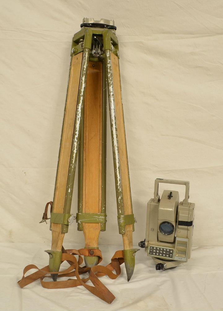 Surveyors tripod
