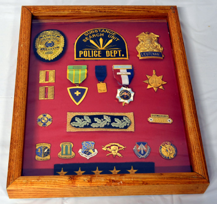 Substance Search Unit Shadow Box