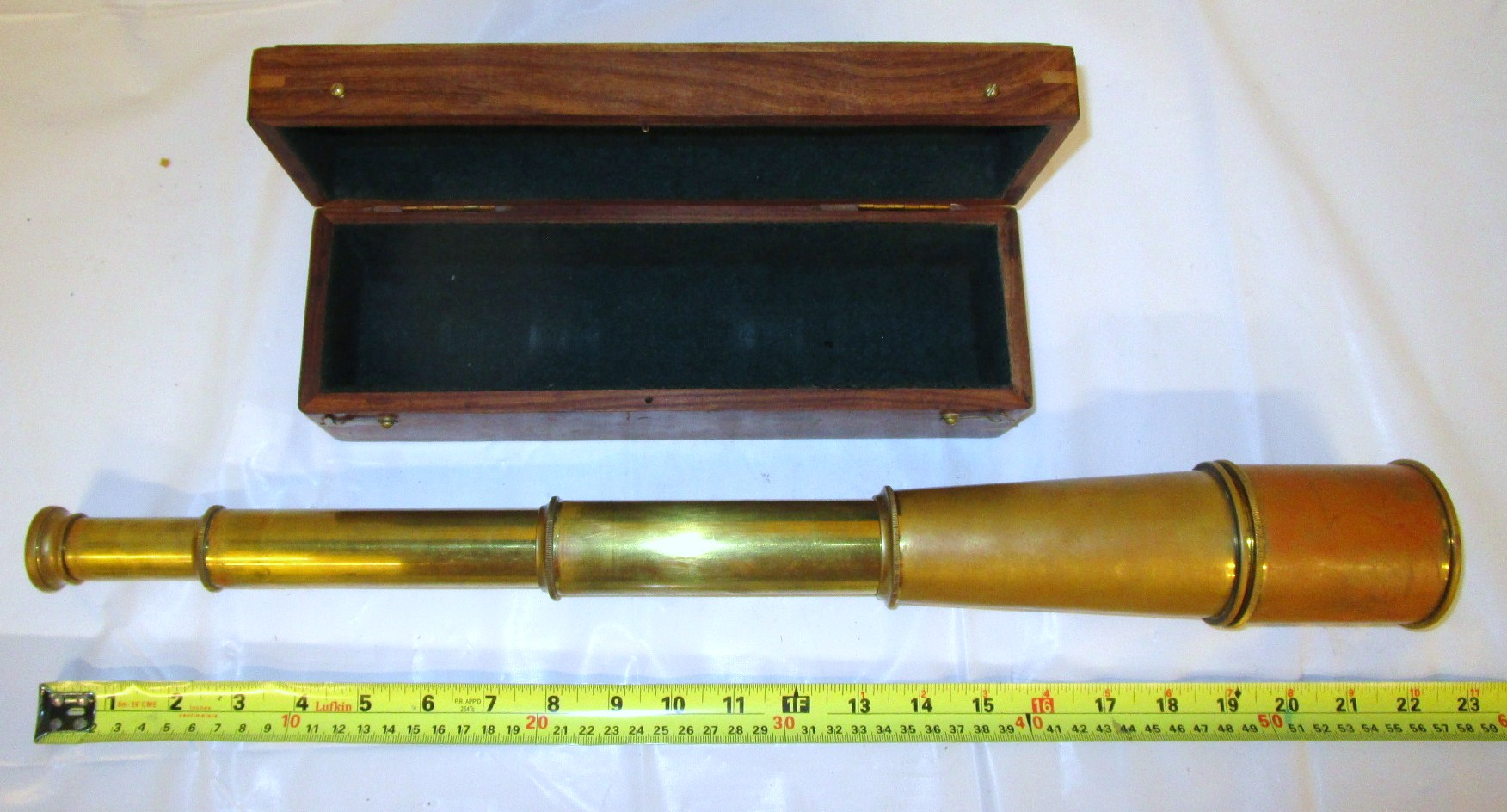 Brass telescope - extendable
