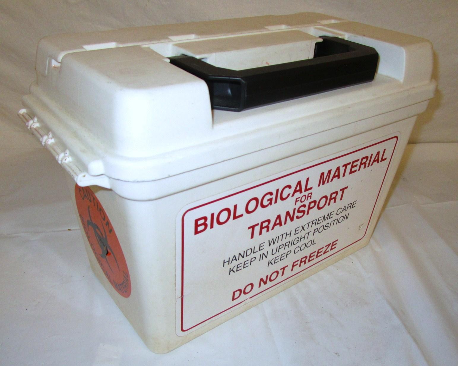 Biological transport case