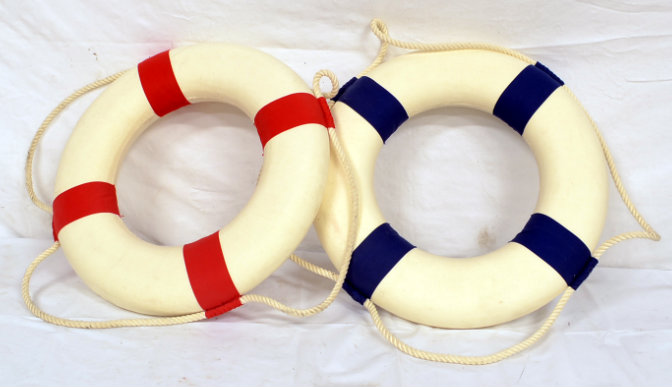 Small life preserver rings