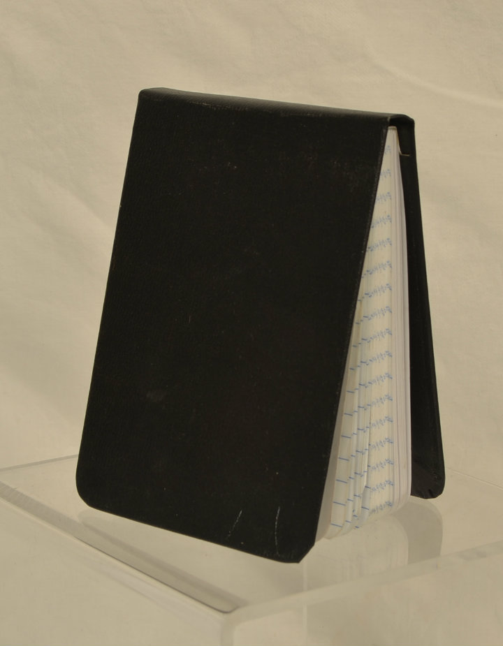 Police notepad